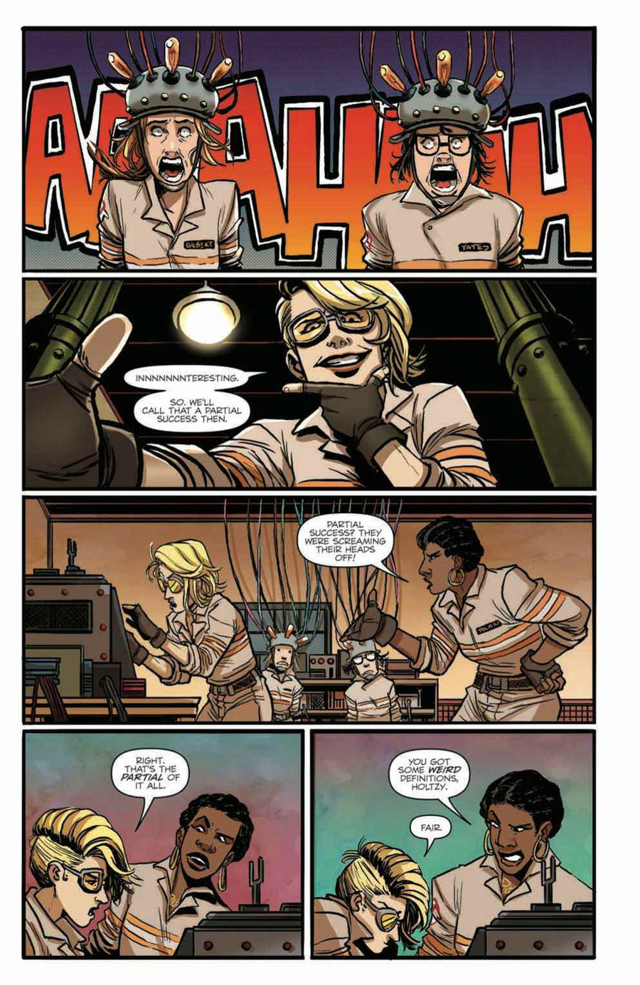Ghostbusters: Answer the Call Issue 4 Page 5
