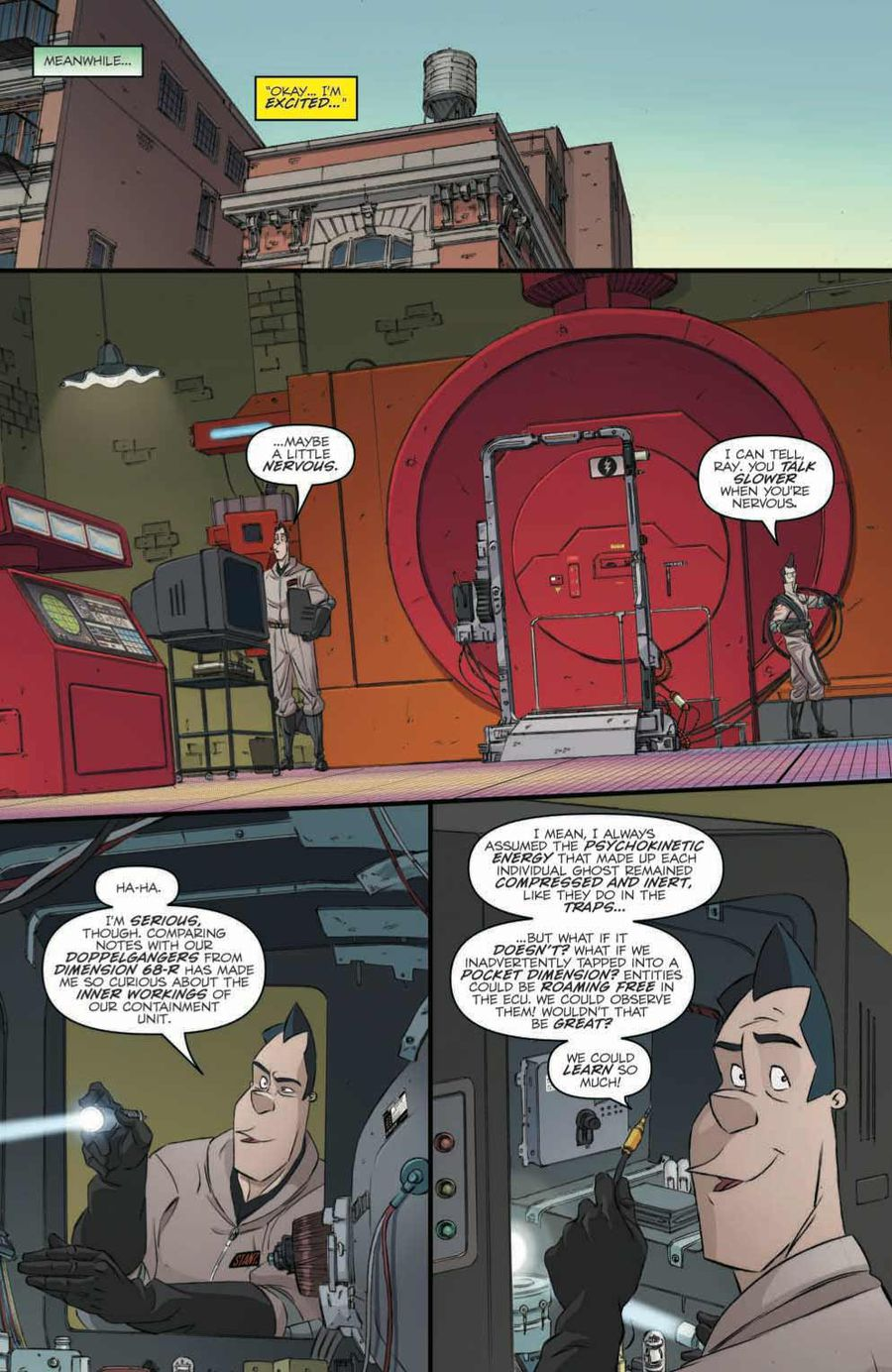 Ghostbusters: Crossing Over Issue 1 Page 5