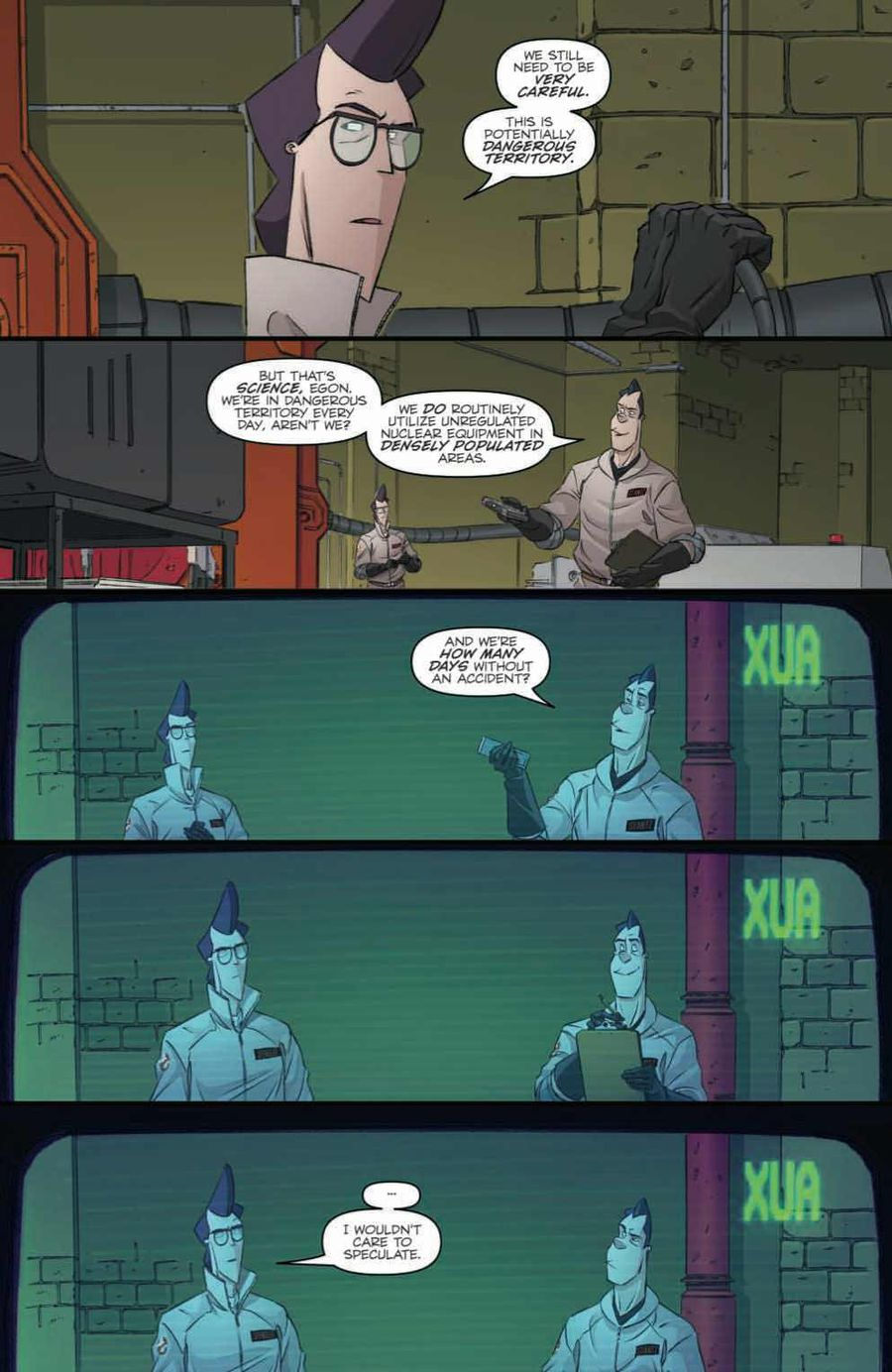 Ghostbusters: Crossing Over Issue 1 Page 6